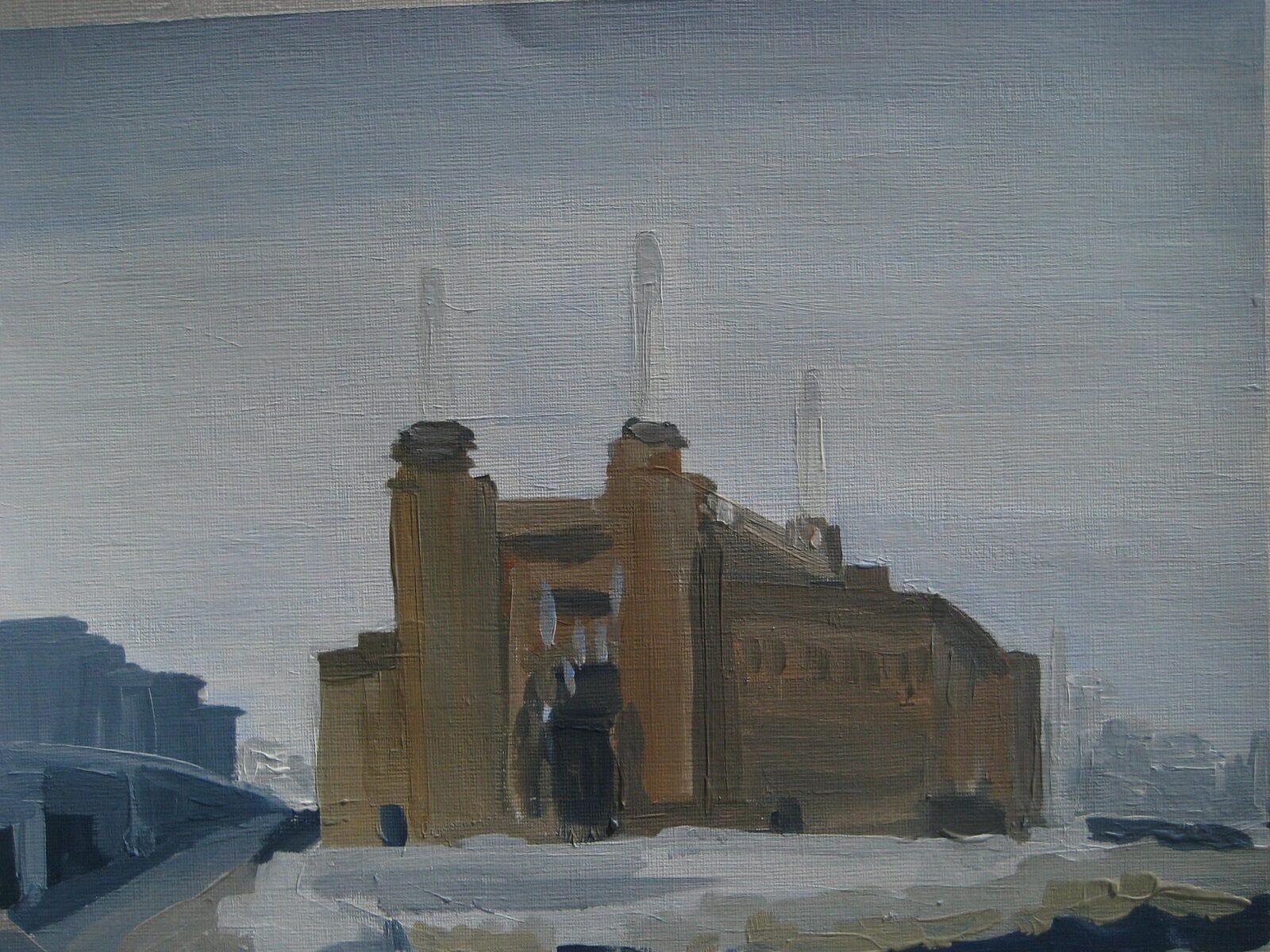 Battersea Power Station from Battersea Park Road 2014