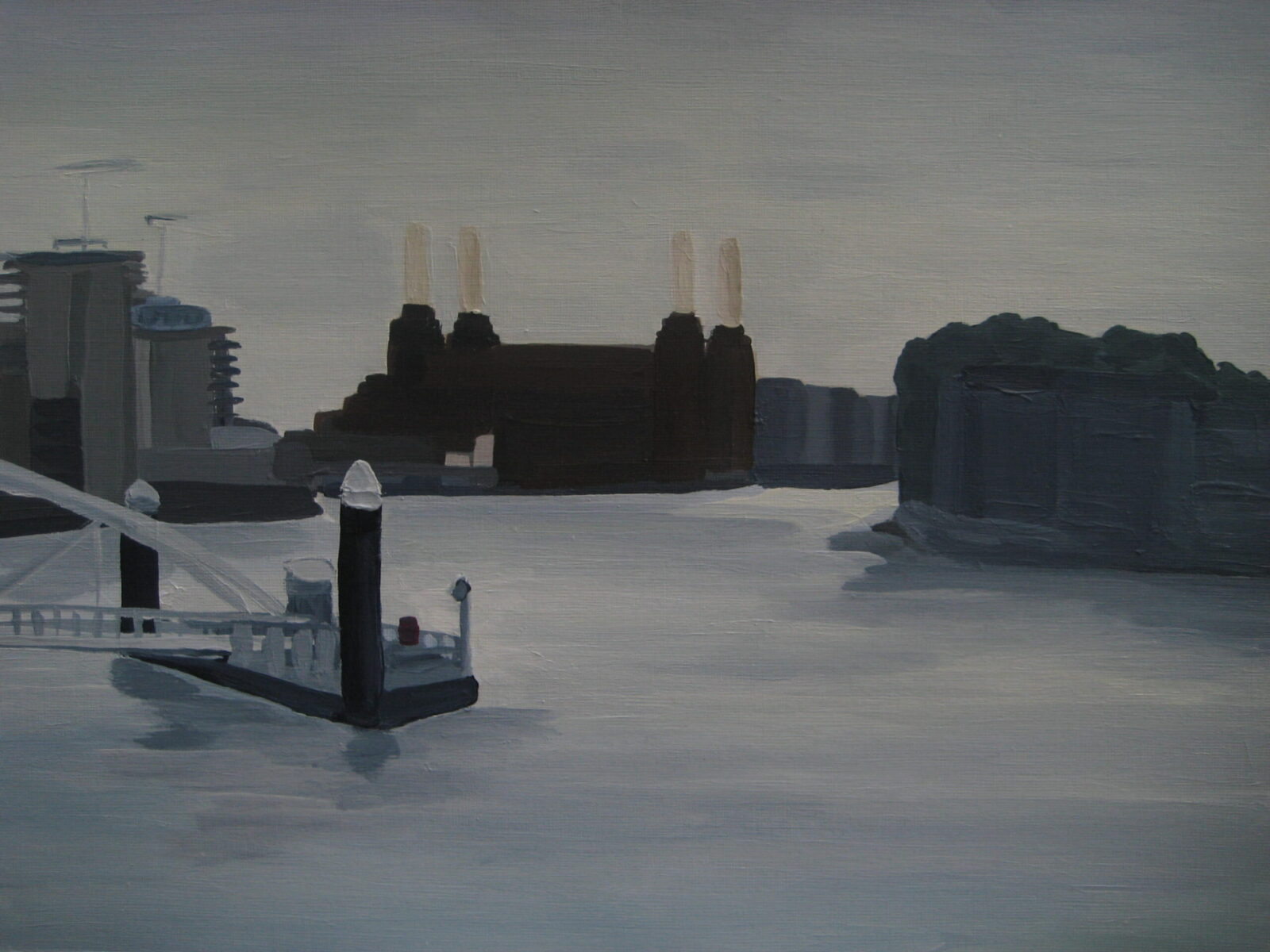 Battersea Power Station from Vauxhall Bridge 2014
