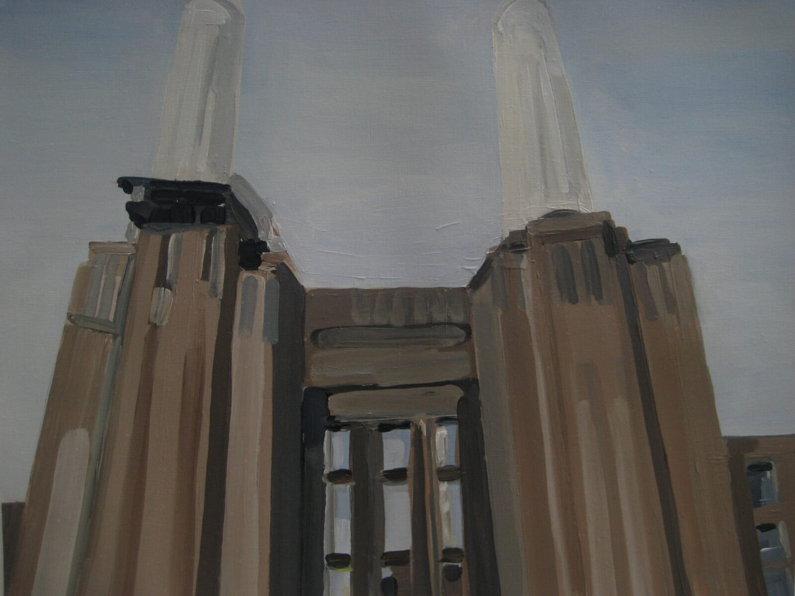 The South Face of Battersea Power Station 2014