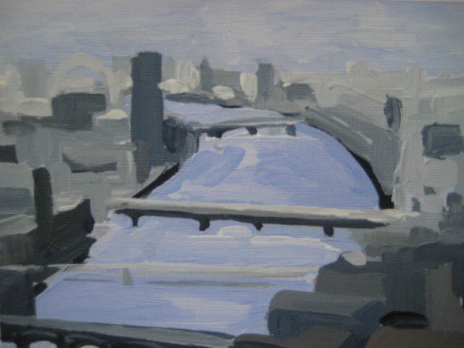London Eye to Southwark Bridge 2016