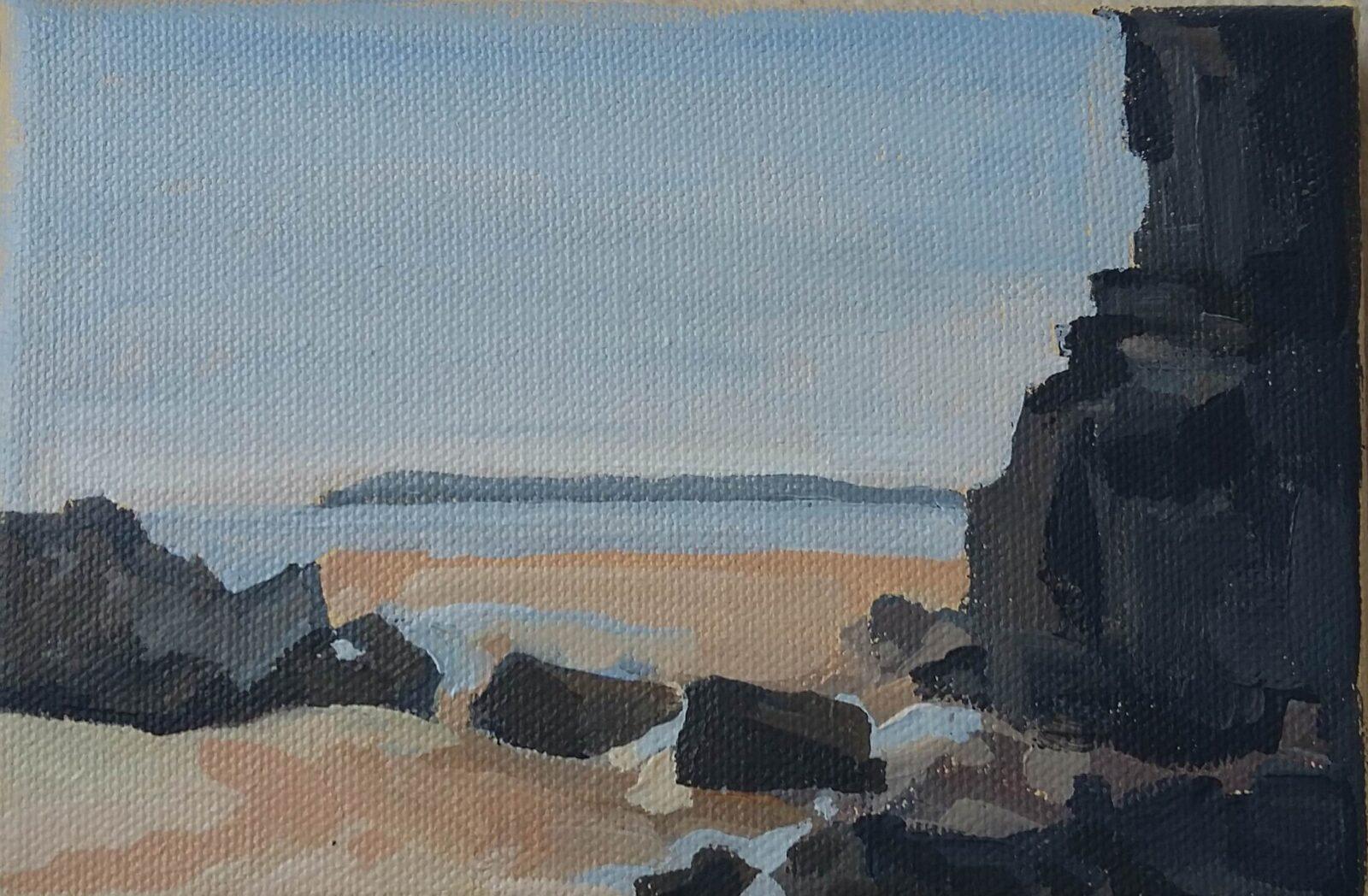 Postcard from the beach II 2020