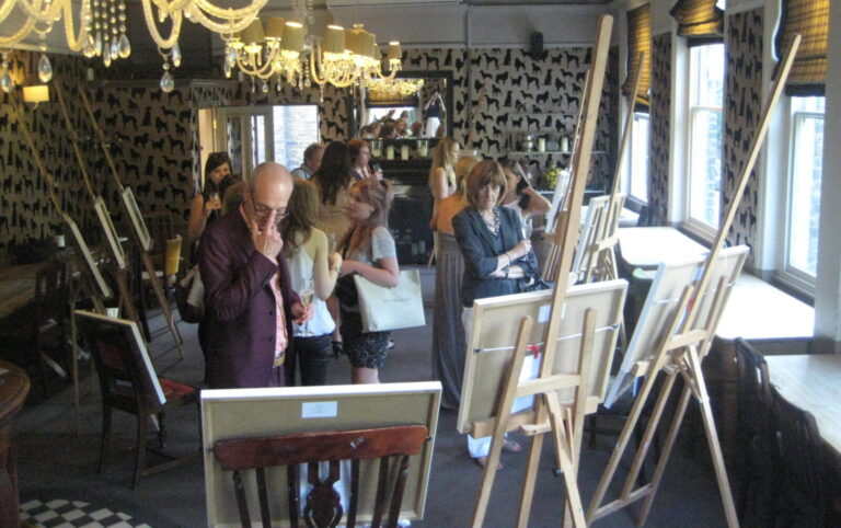 Solo Exhibition of Battersea paintings