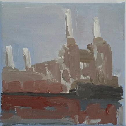 Dinky Battersea Power Station