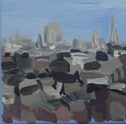 Dinky View of London from Alexandra Palace 2021